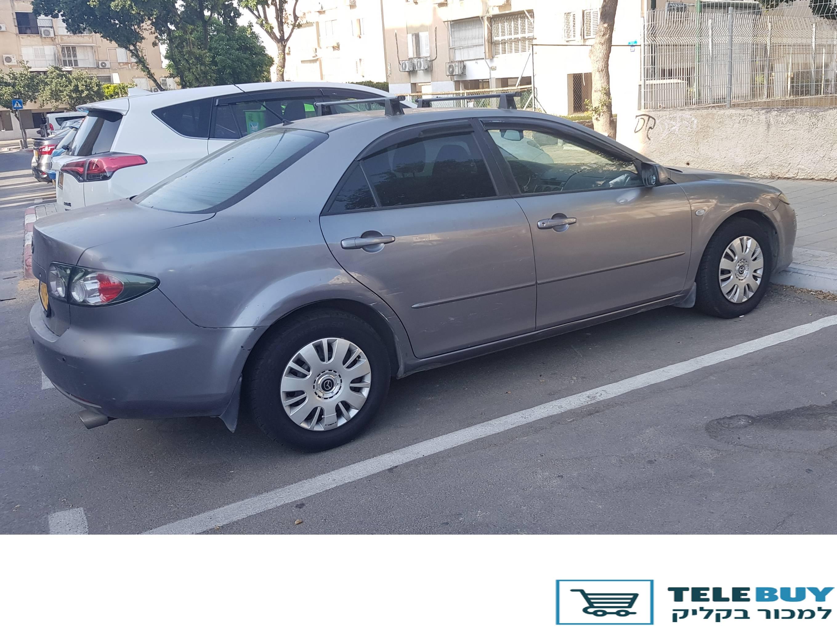 רכב פרטי מאזדה 6 בתל אביב-יפו