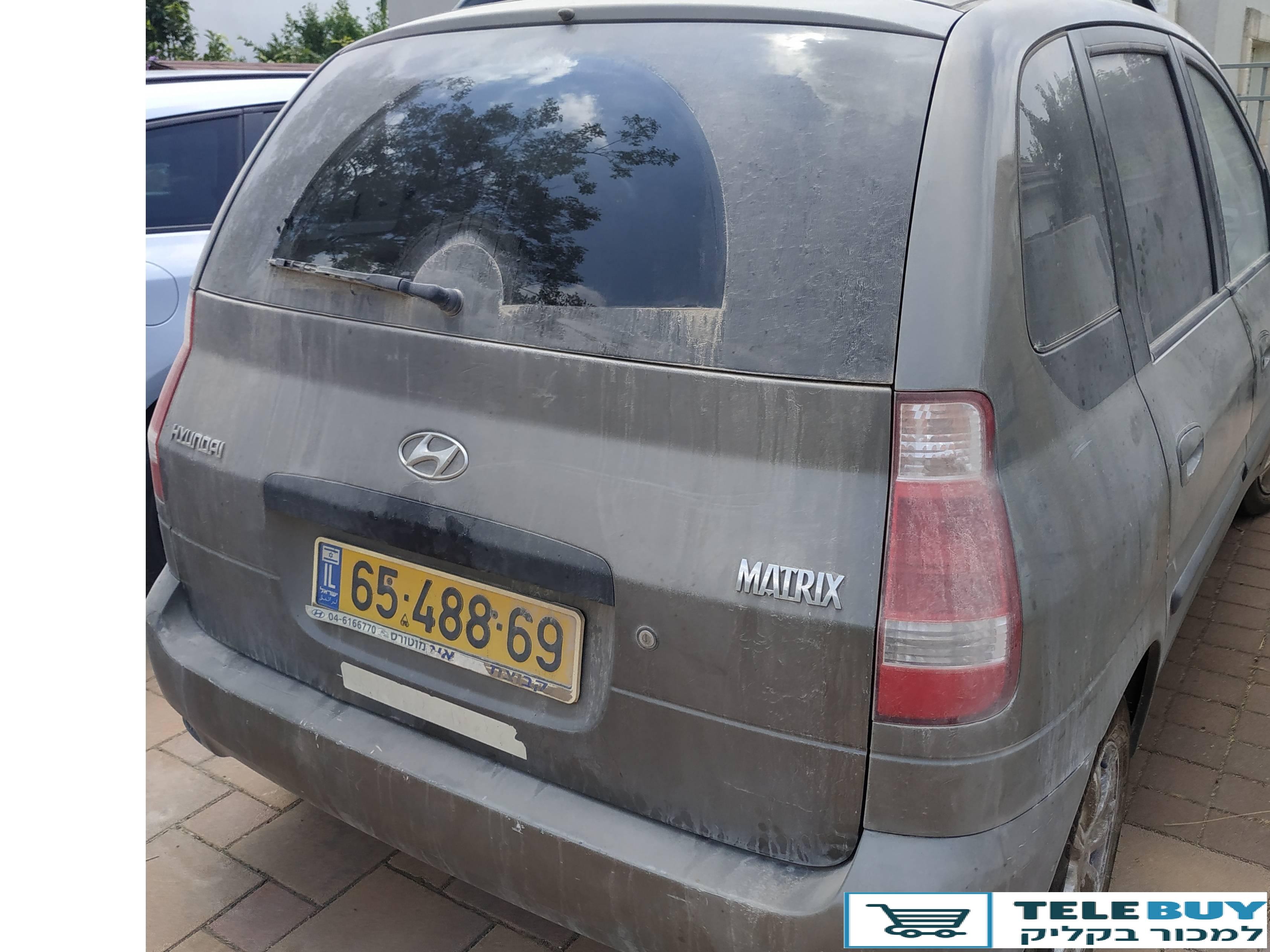 רכב פרטי יונדאי מטריקס  בעמק יזרעאל