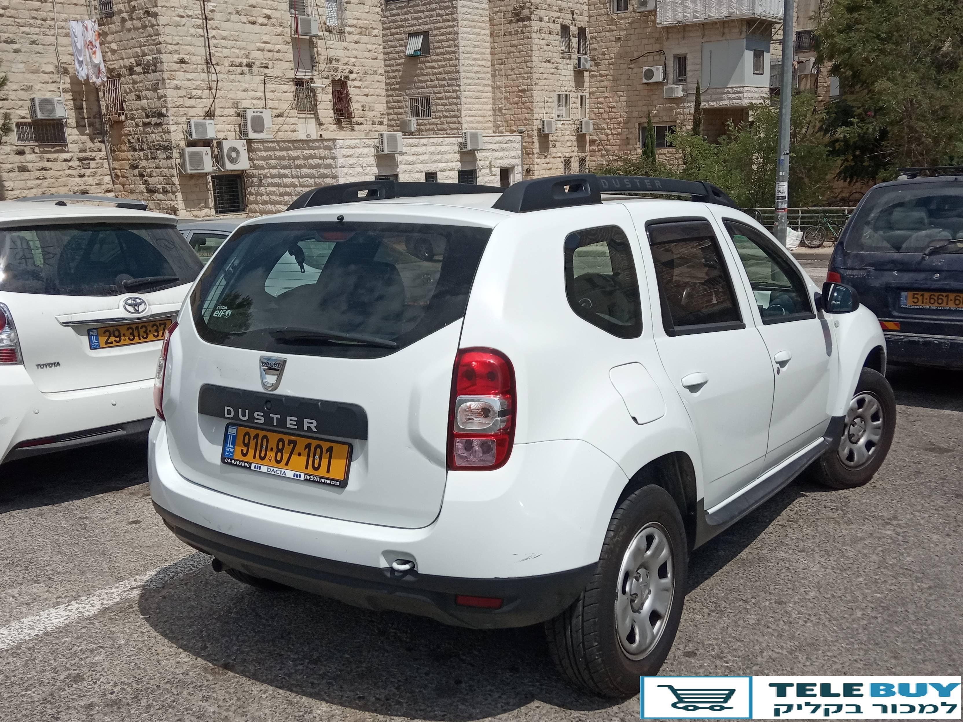 ג'יפים דאצ'יה דאסטר  בירושלים