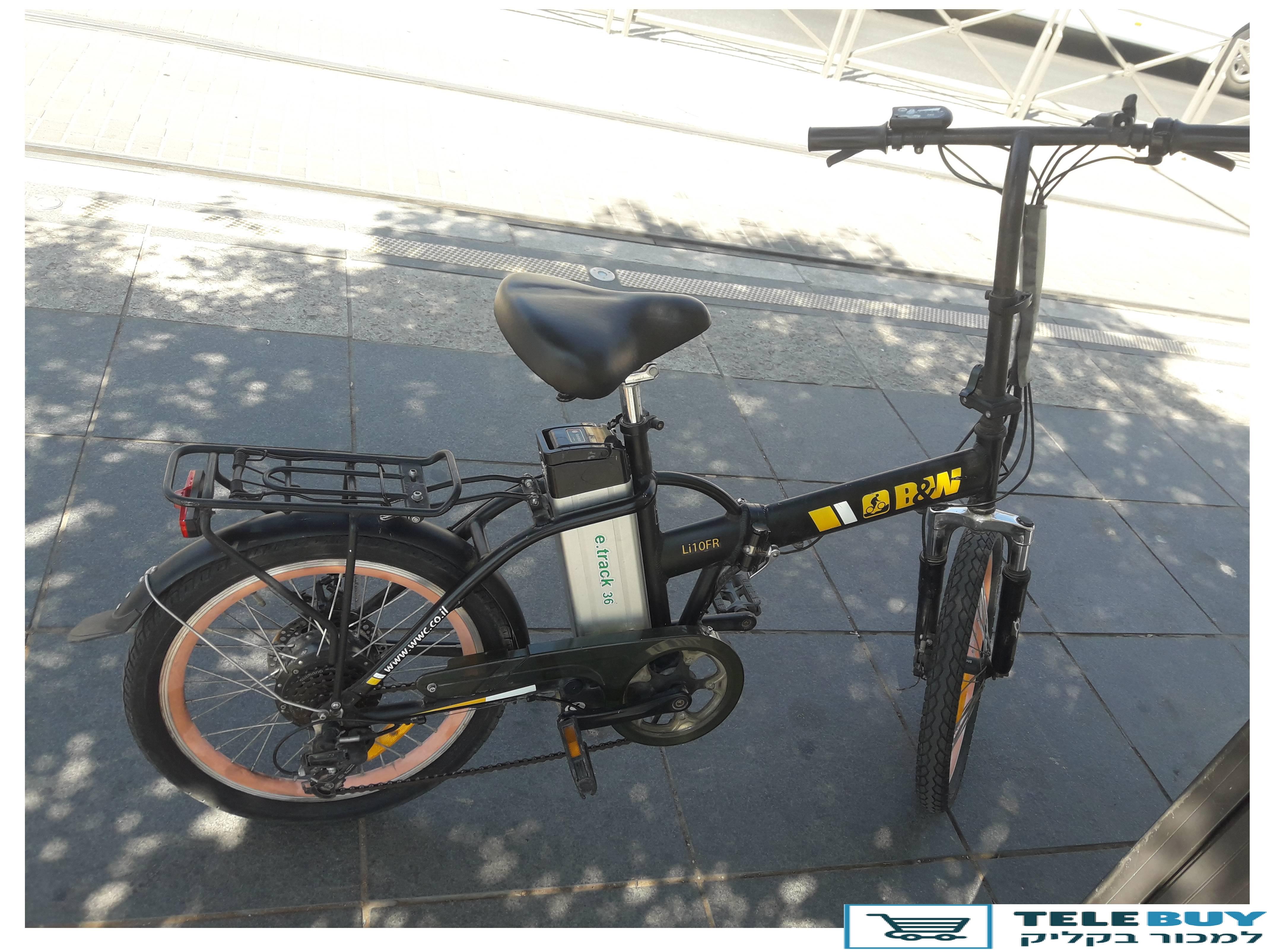 אופניים חשמליים בירושלים
