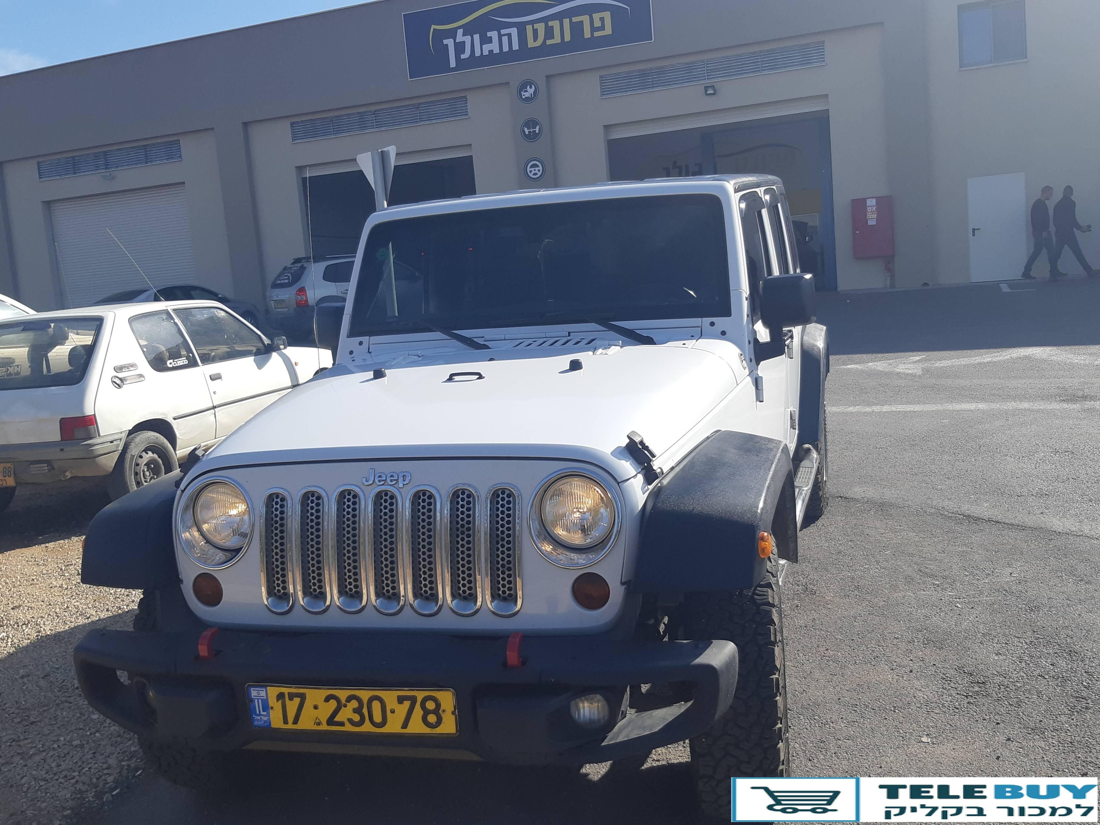 ג'יפ / Jeep רנגלר ארוך בהגליל והגולן