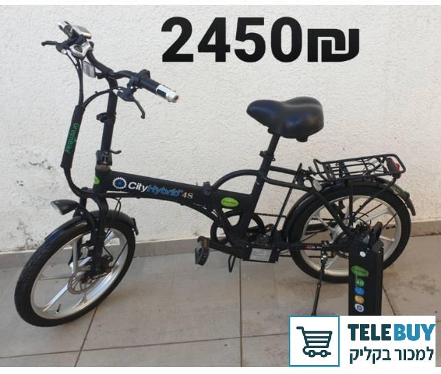 אופניים חשמליים בתל אביב-יפו