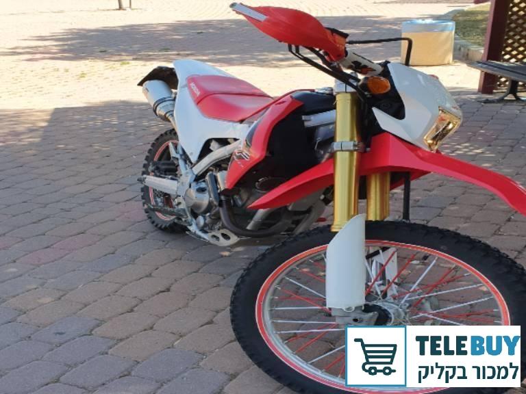 אופנועים הונדה CRF250L  באשדוד ואשקלון