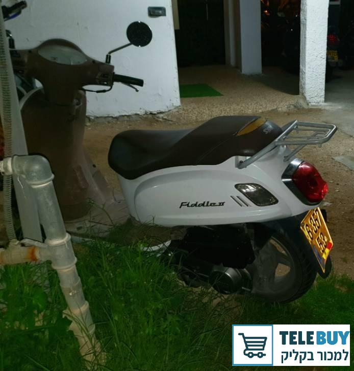 קטנועים סאן יאנג פידל 125  בפתח-תקוה