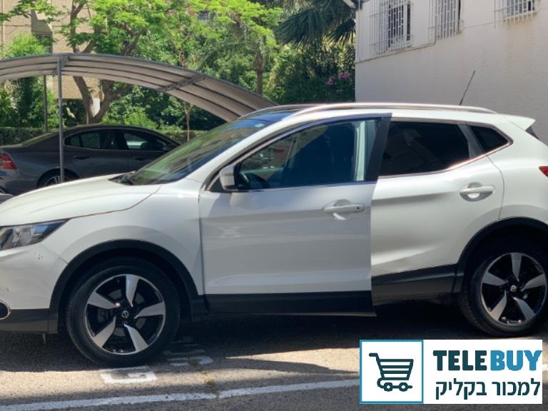 רכב פרטי ניסאן קשקאי  בתל אביב-יפו