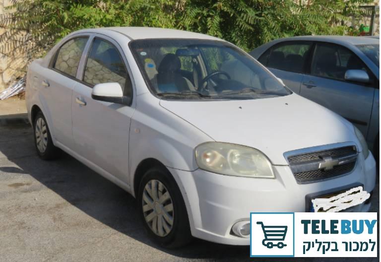 שברולט אבאו שנת 2010 יד 4 בירושלים