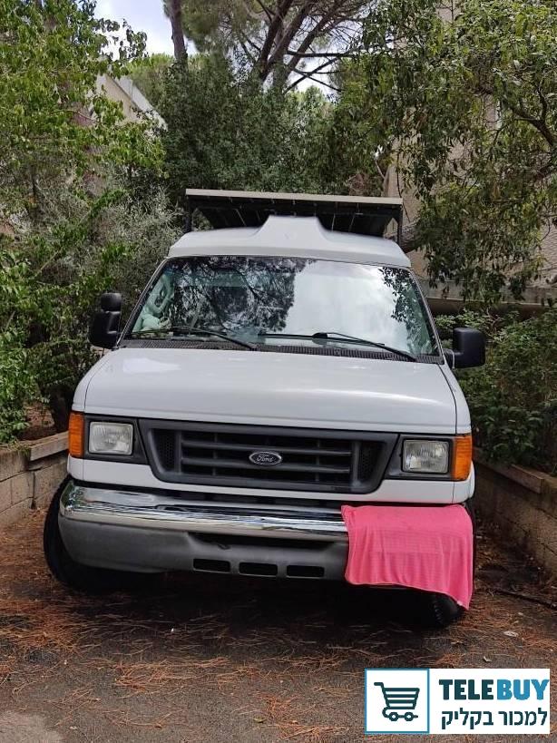 פורד אקונוליין ארוך שנת 2006 יד 2 בחיפה