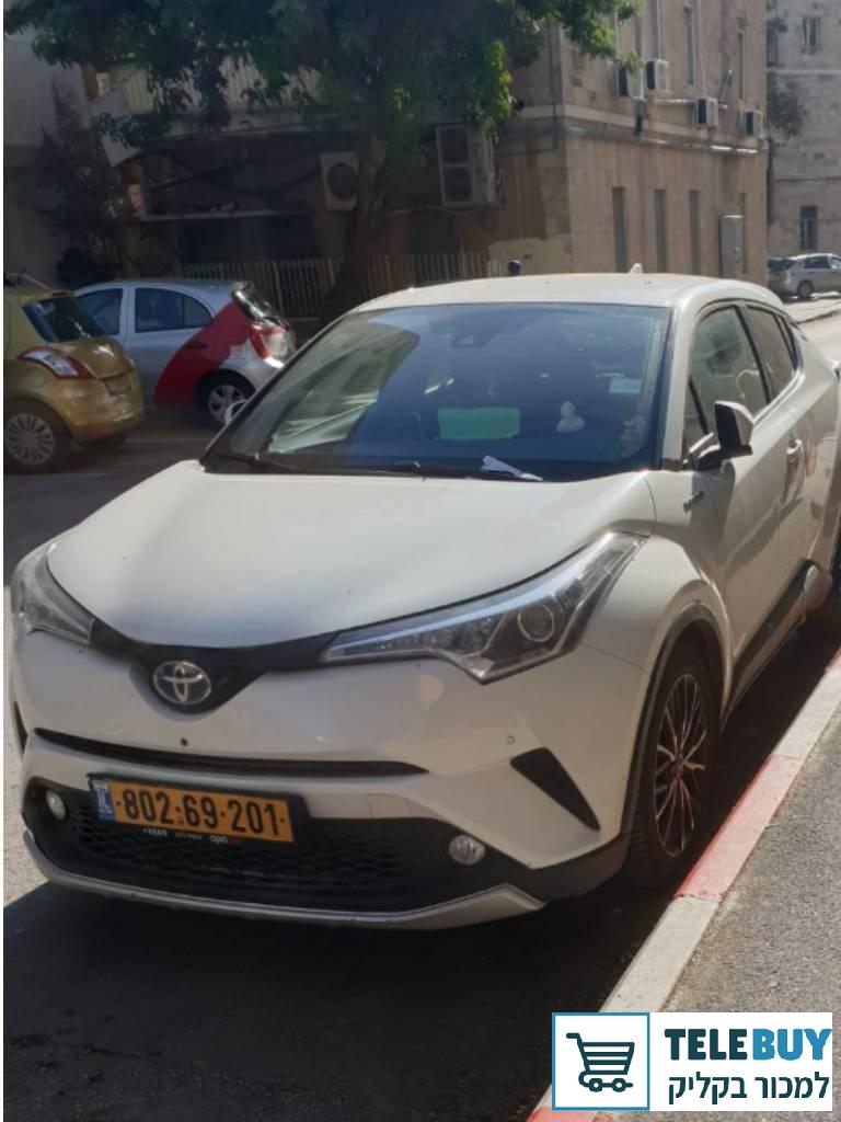 תמונה של טויוטה C-HR שנת 2019 בירושלים