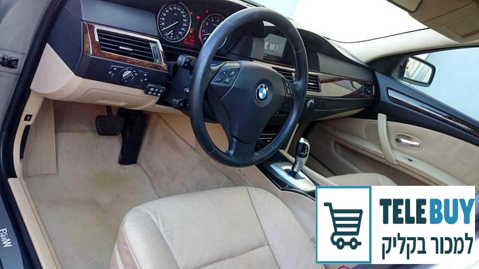 רכב פרטי ב.מ.וו / BMW סדרה 5 בראשון לציון