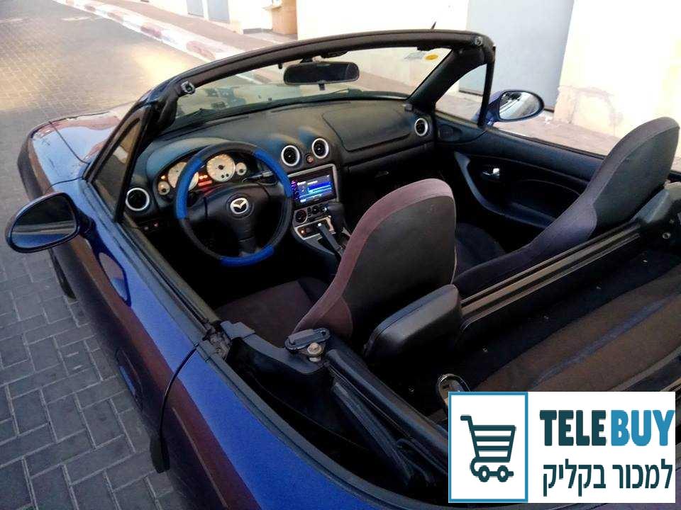 רכב פרטי מאזדה MX-5 בראשון לציון