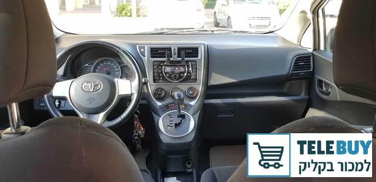 רכב פרטי טויוטה ספייס ורסו  בבאר-שבע והסביבה