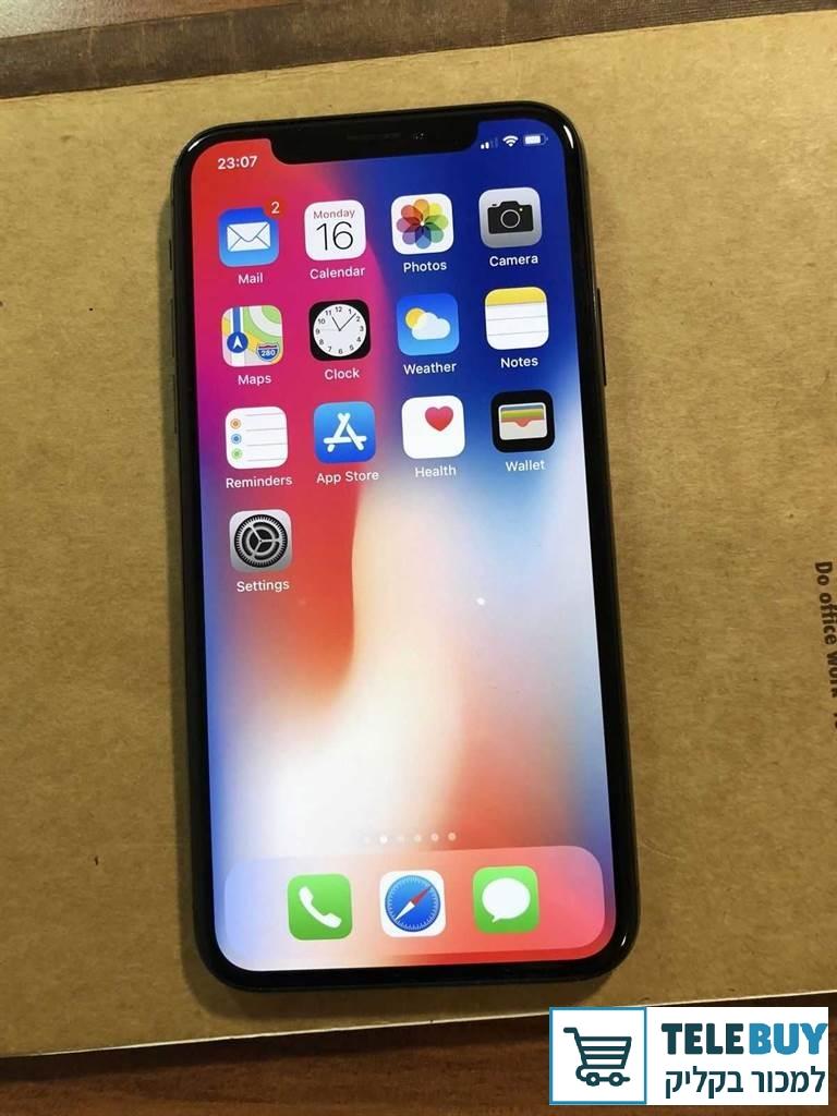 סלולרי מכשיר סלולרי אפל Apple אייפון X בעכו-נהריה