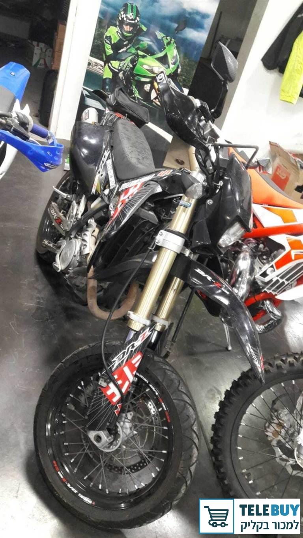 אופנועים סוזוקי DRZ400SM בקריות