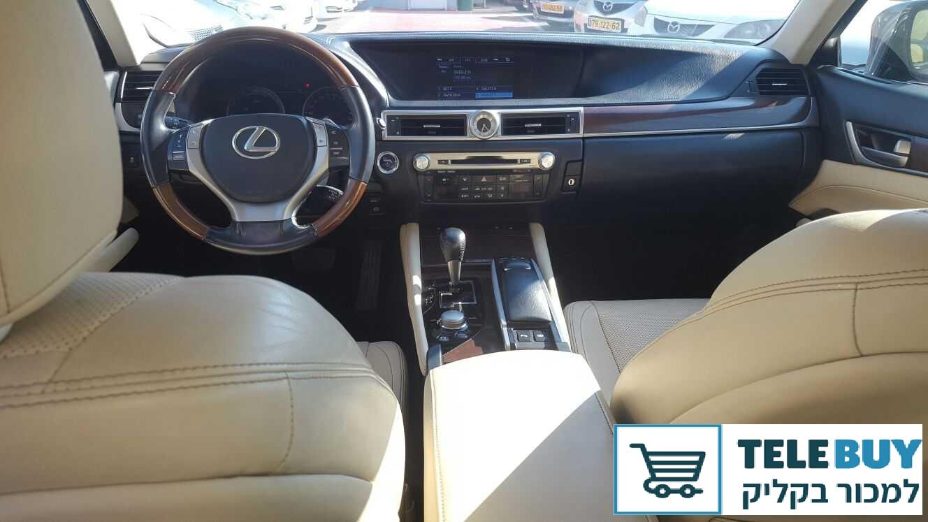 רכב פרטי לקסוס GS450H בחדרה