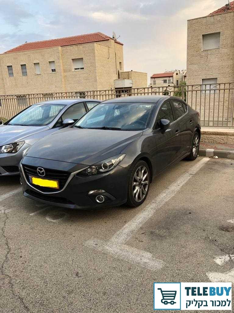 רכב פרטי מאזדה 3 בירושלים
