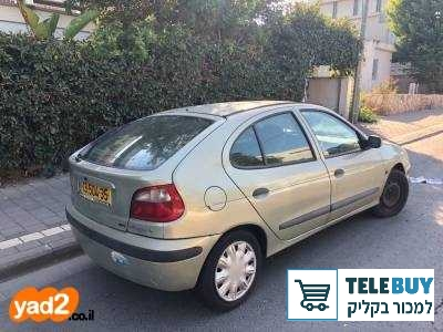 רכב פרטי רנו מגאן  בתל אביב-יפו