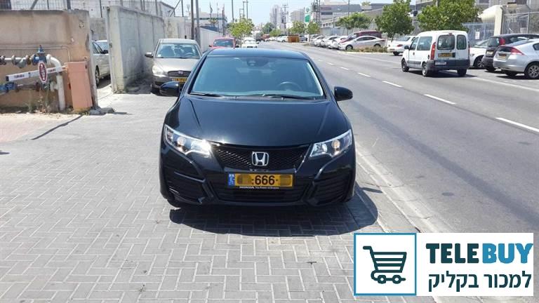 רכב פרטי הונדה סיוויק האצ'בק באשדוד ואשקלון