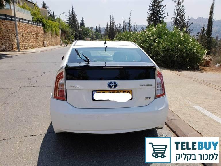 רכב פרטי טויוטה פריוס בירושלים