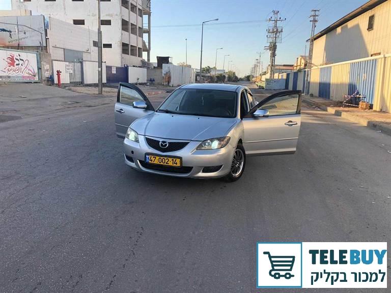 רכב פרטי מאזדה 3  באשדוד ואשקלון