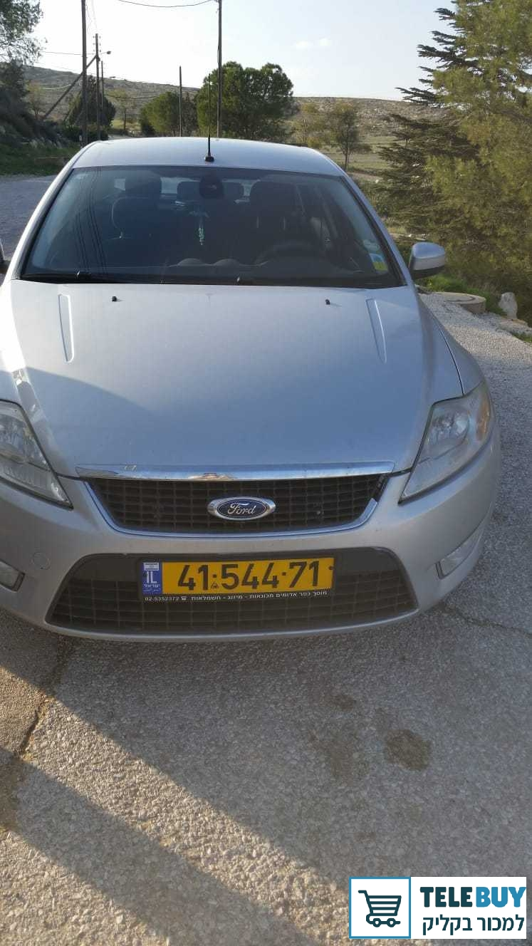 רכב פרטי פורד מונדאו בירושלים