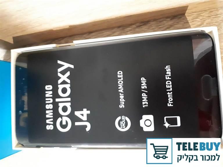 סלולרי מכשיר סלולרי סמסונג גלקסי J4 בירושלים