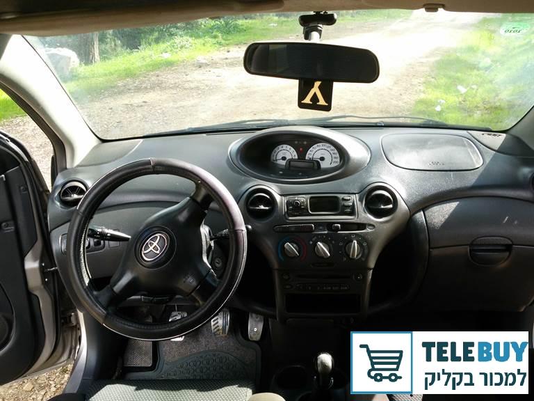 רכב פרטי טויוטה יאריס בהגליל והגולן