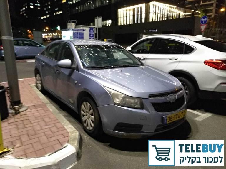 רכב פרטי שברולט קרוז בתל אביב-יפו