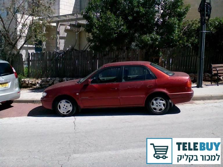רכב פרטי טויוטה קורולה בירושלים